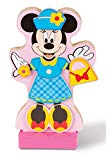 Melissa & Doug Minnie Mouse Magnetic Wooden Doll