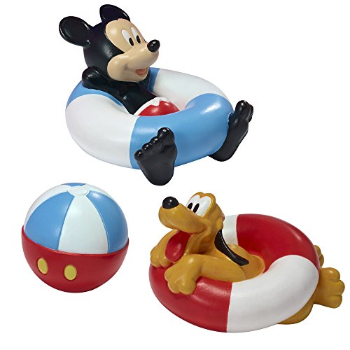 Disney Mickey Mouse and Friends Bath Toys for Baby upto 5 inches High Each NEW